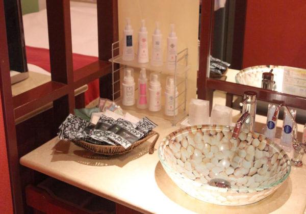 東松山ラブホテル バリタイ 102号室 洗面所