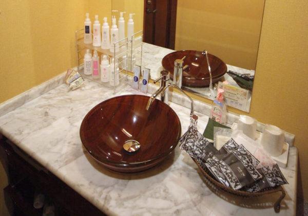 東松山ラブホテル バリタイ 202号室 洗面所