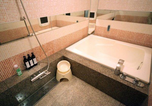 東松山ラブホテル バリタイ 203号室 お風呂