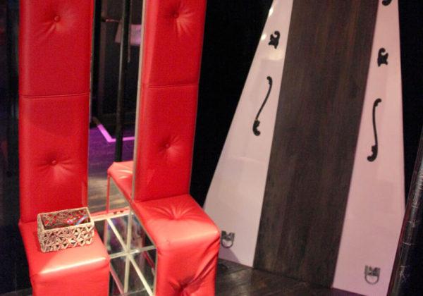 東松山ラブホテル バリタイ 206号室 SMルーム 磔台、スケベ椅子