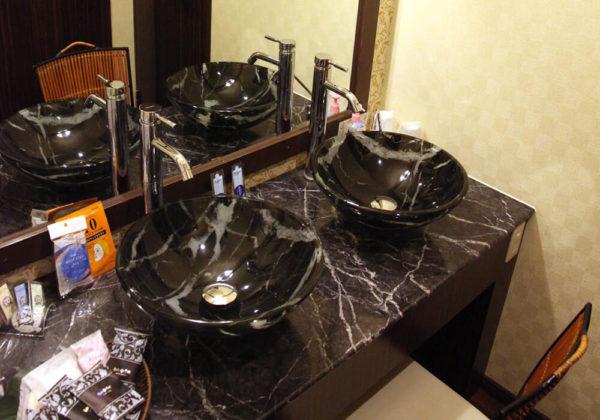東松山ラブホテル バリタイ 207号室 洗面所