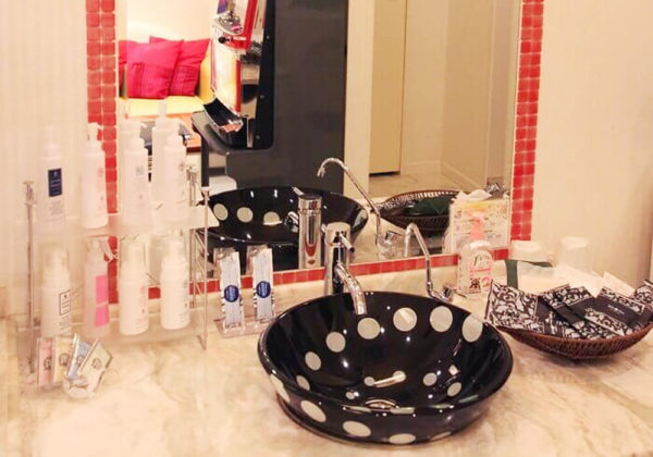 東松山ラブホテル バリタイ 212号室 洗面所