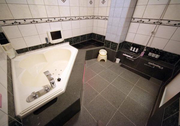 東松山ラブホテル バリタイ 217号室 お風呂