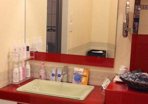 東松山ラブホテル バリタイ 217号室 洗面所