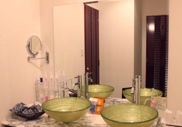 東松山ラブホテル バリタイ 218号室 洗面所