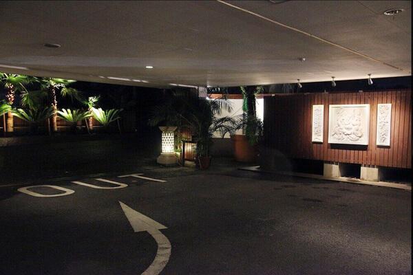 東松山ラブホテル バリタイ 駐車場
